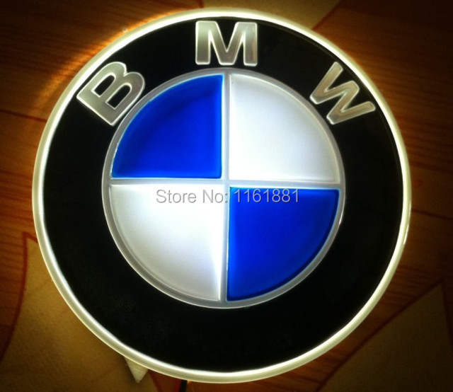 The New Logo D LED Cold Light Lamp For BMW D Super Cool Cars - Car sign with namesonline get cheap d led sign aliexpresscom alibaba group