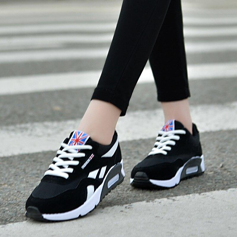 Cesta Femme Zapatillas Mujer azul Pisos Negro Deporte Mujeres Chaussure Casuales Nuevo Primavera Plataforma De Zapatos Las Transpirable 2019 rojo ZdwRvqxv