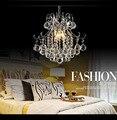 Post Moderne Kronleuchter Atmosphäre Licht Luxus Kristall Lampe Mode Modell Wohnzimmer Lampen Und Laternen Hause-in Kronleuchter aus Licht & Beleuchtung bei