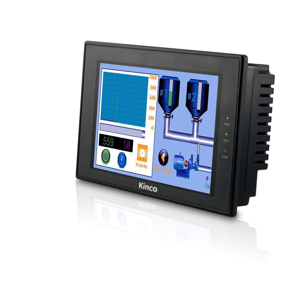 New Original Kinco MT4424TE HMI, 7'' 16:9 TFT LED Display Touch Panel, 800*480,3 COM Ports, RS232/RS485-2/4, Ethernet Support