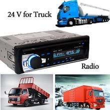 "Auto radio 24 v radio autoradio 1 Din car audio JSD520 radio coche bluetooth 2.5 ""Schermo Stereo Automotive mp3 FM USB Auto"
