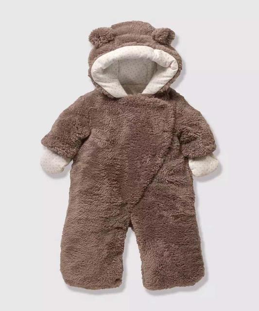 2016 Nova Infantil Bonito em forma de Bebê de Alta Qualidade Outono Inverno Acolchoado Global Macacão Bebê Recém-nascido Romper Roupas