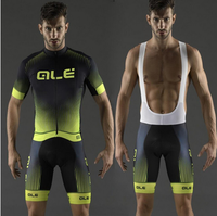 Summer ALE Cycling Clothing Mountain Bike Jersey Ropa Ciclista Hombre Maillot Ciclismo Racing Bicycle Clothes HU8D