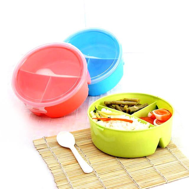 Food Container Plate Dinner Set Cutlery Plastic Dinnerware Sets Bento Storage For Kids Bowl  sc 1 st  AliExpress.com & Food Container Plate Dinner Set Cutlery Plastic Dinnerware Sets ...