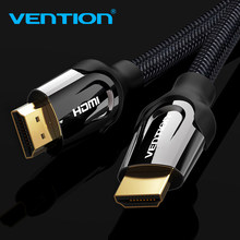 Vention HDMI Cable 1m/2m/5m/8m/10m HDMI Ethernet HDMI to HDMI Connector Adapter Cable 1.4V 2.0V 1080p 3D for PC HDTV Projector(China)