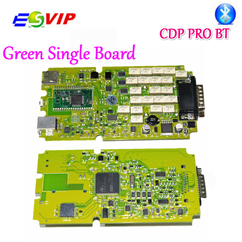 A++ quality Single Board TCS CDP PRO PLUS cdp pro for +Generic 3 in 1 New NEC Relays bluetooth 2015.R3 software obd tool автоинструменты new design autocom cdp 2014 2 3in1 led ds150