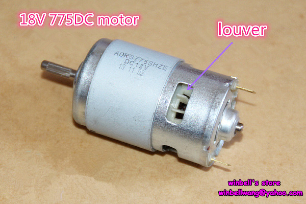 Brand new 12 18v ball bearings 775 dc motor large torque for Large dc electric motor