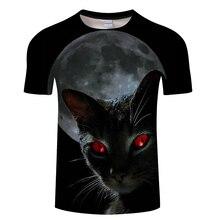 Новая модная женская/мужская футболка с забавным котом, футболка с 3d принтом животных, повседневная мужская футболка с рисунком кота, футболки, футболки азиатского размера S-6XL