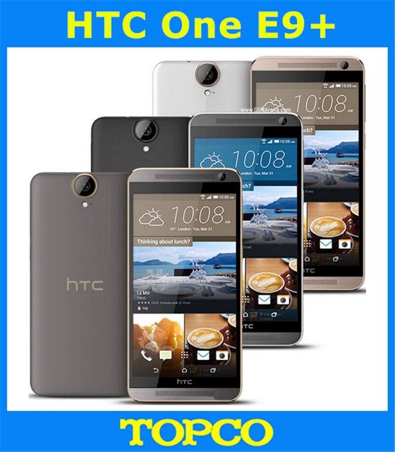 "Цена за HTC One E9 + E9 Plus Оригинальный Разблокирована GSM 3 Г и 4 Г Android Octa core ОПЕРАТИВНАЯ ПАМЯТЬ 3 ГБ Мобильного Телефона 5.5 ""WIFI GPS 20MP 32 ГБ dropshipping"