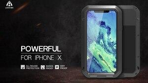 Image 2 - ゴリラガラスラブメイための強力なケース iphone se 2020 11 プロ x xs 最大 xr iphone 8 6 6s 7 プラス防水鎧ケース