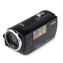 Rico Câmera Digital com 16MP 16 Vezes Zoom Digital Câmera de Vídeo Digital HD 720 p Início Portátil Selfie Câmera VCR