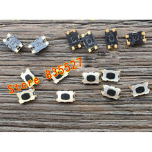 10PCS/lot France Peugeot Citroen Sega 307 308 408 car key remote control button switch micro 4pin KMR211G LFS(China)