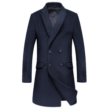 Повседневная шерсть и смеси пальто мужчины chaqueta hombre пальто в течение длительного времени размер M, чтобы XXXL