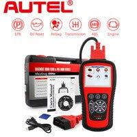 Autel MaxiDiag Elite MD802 OBD2 Auto Diagnostic Tool Code Reader Scanner ABS Airbag Engine EPB Automotive OBD2 Code Reader