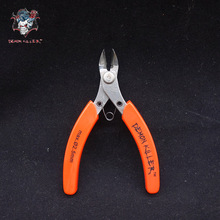Original Demon killer Pliers 3Cr13 steel Rubber Handle DIY Electronic Cigarette Pliers Wick Wire Cutter