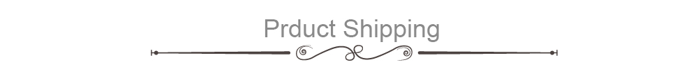 Prduct Shipping