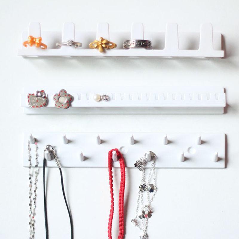 9pcsset Stylish Women Essential Jewelry Display Organizer Wall