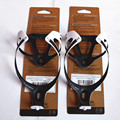 2 PCS hot sales  full carbon fibre bottle cage bottle holder with package bicycle accessories matte finish  2 color