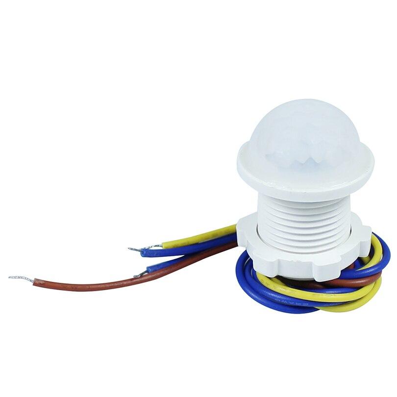 Intelligent PIR, Détecteur de Mouvement 110 v 220 v Temps-Retard 40 s Auto Infrarouge corps Humain Indction Capteur contrôle de la lumière pour LED éclairage