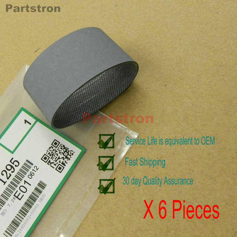 6Pieces ADF Belt Rrip A806-1295 A680-1241 Fit për Ricoh MP5500 6500 7500 6000 7000 8000 6001 7001 8001 2051 2060 2075 1060 1075