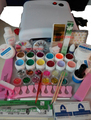 Professional Full Set mix 12 color UV Gel Kit Brush primer Nail Art Set + 36W Curing UV Lamp kit Dryer Curining
