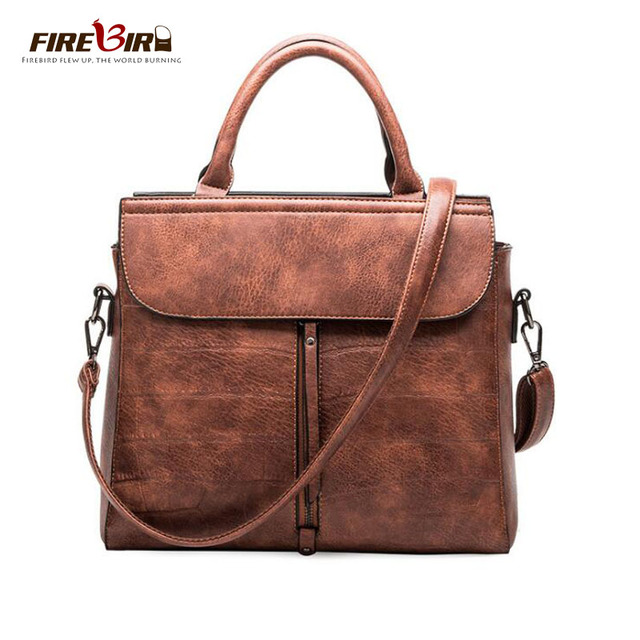 b88ff77da775 FIREBIRD Women Top Handle Satchel Handbags Tote Fashion Shoulder Bag Ladies  Casual Cross-body Teens Brown