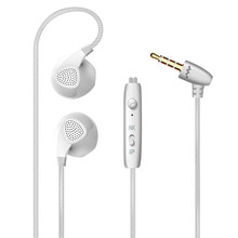 Fashion wire controlled general mobile phone game music with MIC bass stereo denoise HD voice earphone for iphone for andr