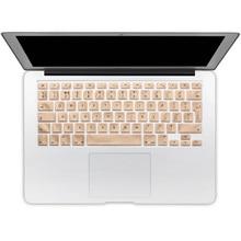 Для Apple Macbook Air 13 Дюйма Клавиатуры Обложка Фильма Прозрачный ЕС Английский Алфавит Силиконовая Клавиатура Крышка Для Pro 13 15 сетчатки