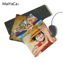 MaiYaCa One Piece Luffy Wallpaper Computer Mouse Pad Mousepads Decorate Your Desk Non-Skid Rubber Pad Not Overlock Mouse Pad