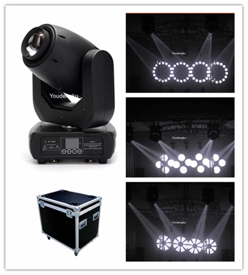 6 pieces with flightcase 150w led gobo spot moving head light moving head spot led led spot light 150 w