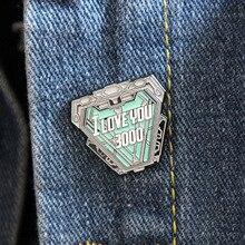 Классные металлические брошки и шпильки эмалированная булавка для рюкзака/сумки/значок брошь футболка воротник ювелирные изделия 1 шт