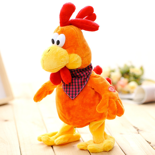 mirabbit high quality creative fun singing and dancing chicken toy