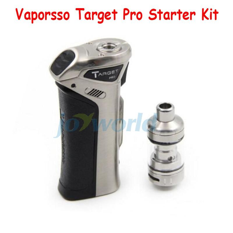 100% Vaporesso TARGET pro VTC 75W Starter Kit new target vtc 75w kit With Ceramic cCELL Tank Coil Temperature Control vapor Mod (4)