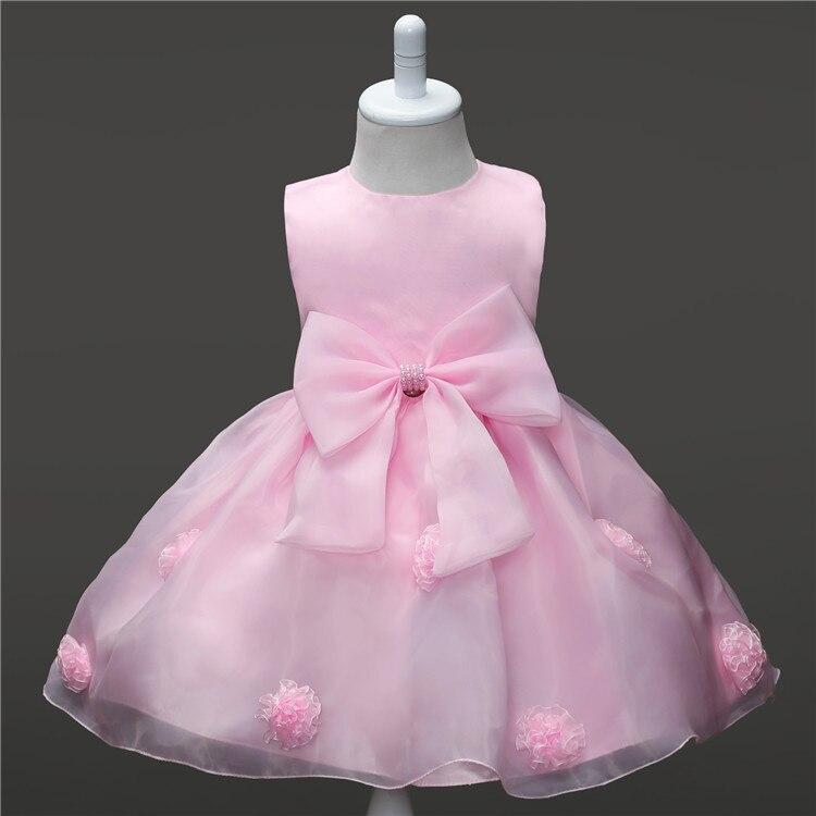 2016 bebé de la manera muchachas del vestido de la muchacha Vestido ...