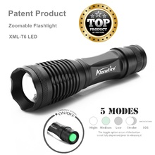 AloneFire E007 Lanterna CREE XML-T6 3800LM Tactical Flashlight Torch Zoom Linternas LED Flashlight LED Bicycle Front Head Light