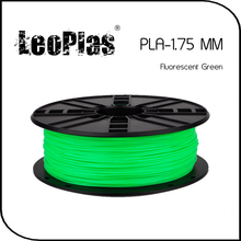 Worldwide Fast Delivery Direct Manufacturer 3D Printer Material 1 kg 2.2 lb 1.75mm Fluorescent Green PLA Filament