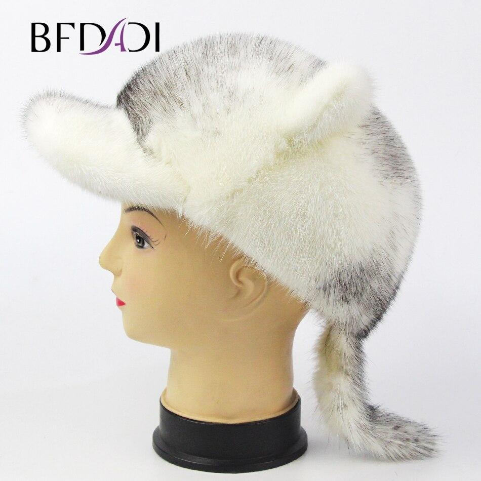 Svadilfari, хит продаж, зима 2018, коровья кожа, бейсбольная кепка для пожилых людей, подарок для папы, мамы, натуральная кожа, с ушками, для мужчин и ... - 4