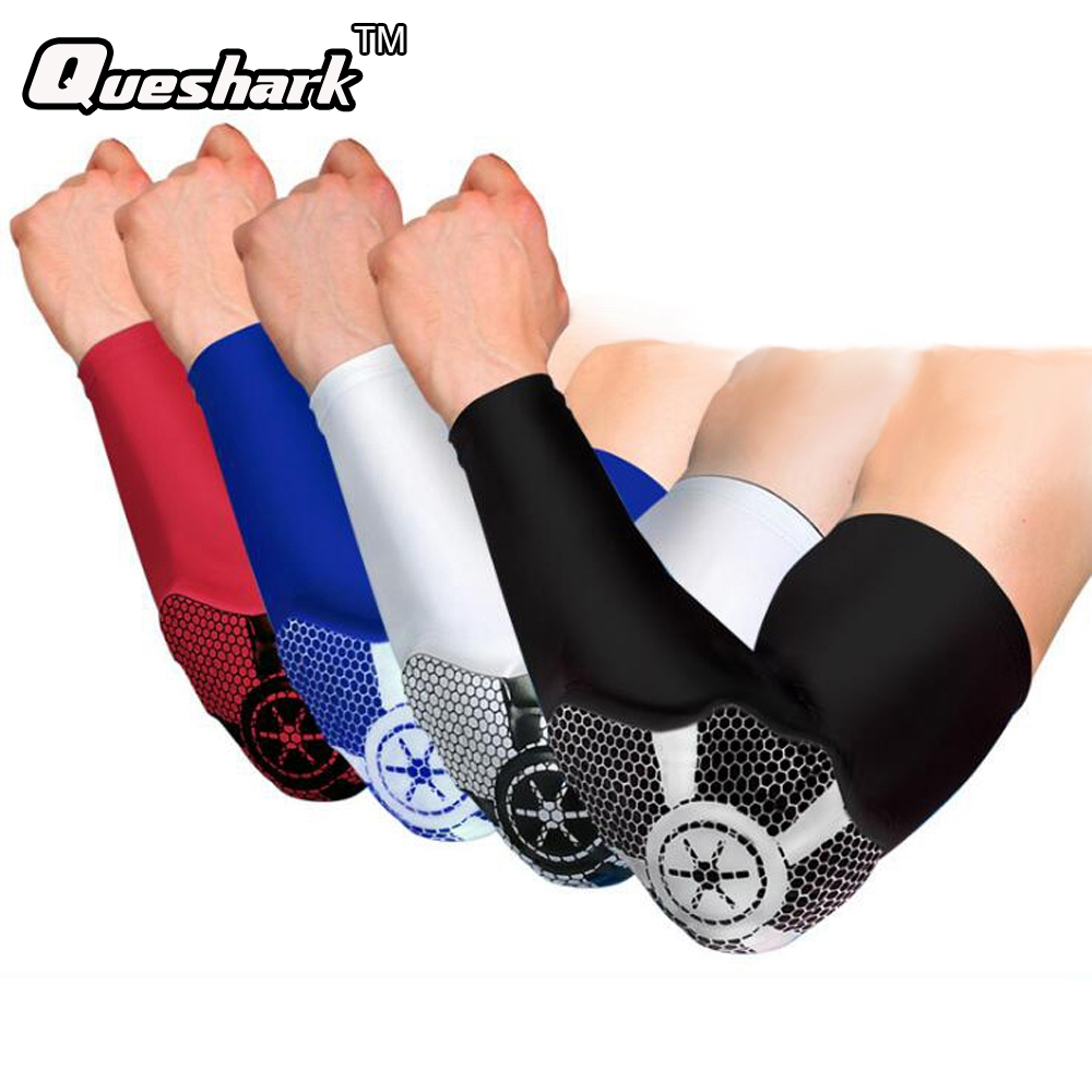 1Pcs Basketball Badminton Tennis Golf Elbow Support Sports Fitness Elbow Pads Protection