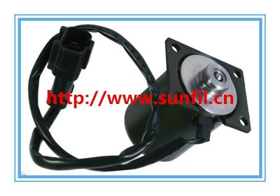 High quality Excavator spare parts, Pump Solenoid Valve 708-23-18272 excavator PC200-3,Free shipping high quality excavator spare parts e320c pump solenoid valve 139 3990 5i 8638