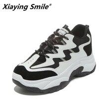 Xiaying Smile женские кроссовки женская уличная нескользящая подошва обувь 2018 дышащая free run zapatillas deporte mujer кроссовки