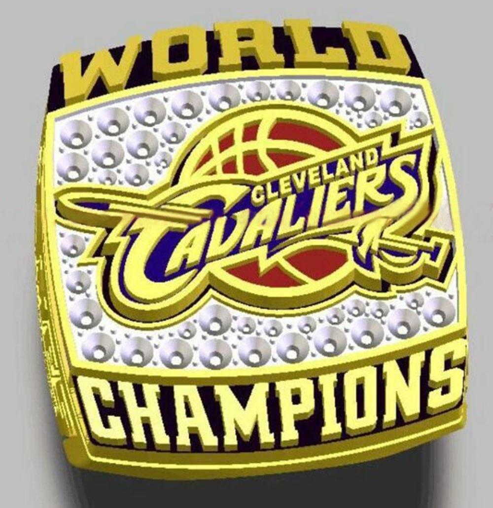 Cleveland Cavs Rings RING 2016 BASKETBALL BRAND NEW WORLD CHAMPIONSHIP REPLICA MENS JAMES MVP 23 ...
