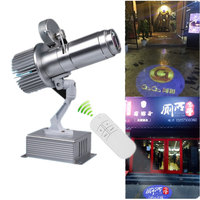 Gobo Projector Remote Control Logo Advertising Commercial Shop Mall Restaurant Project Business LED Light Long Body Shadow Custo