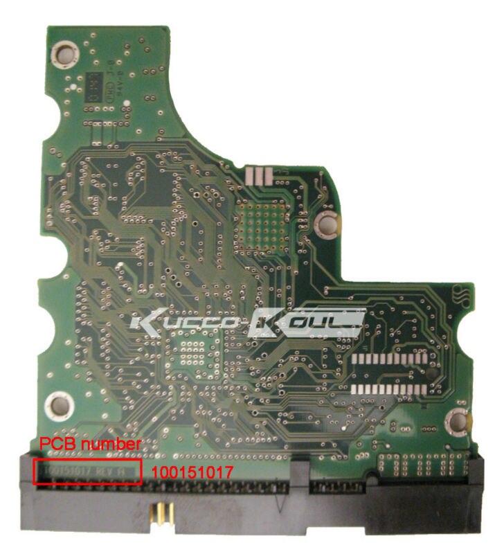 Seagate 3 5 IDE PATA Hard Drive Parts Pcb Logic Board Printed Circuit Board 100151017 For