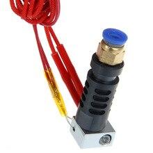 Assembled Peek J-head hotend long-distance bowden extruder 0.3/0.35/0.4/0.5mm nozzle +75cm cable for 3mm 3D filament