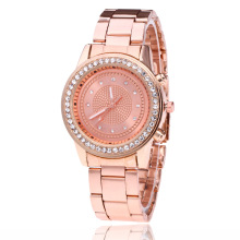 Hot Famous brand Fashion Casual Women Watches Crystal Diamond Quartz watch women stainless steel Dress watches Relogio feminino