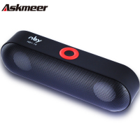 Askmeer Mini Bluetooth Speaker Portable Wireless Speaker Sound System 3D Stereo Music Surround Support Bluetooth TF
