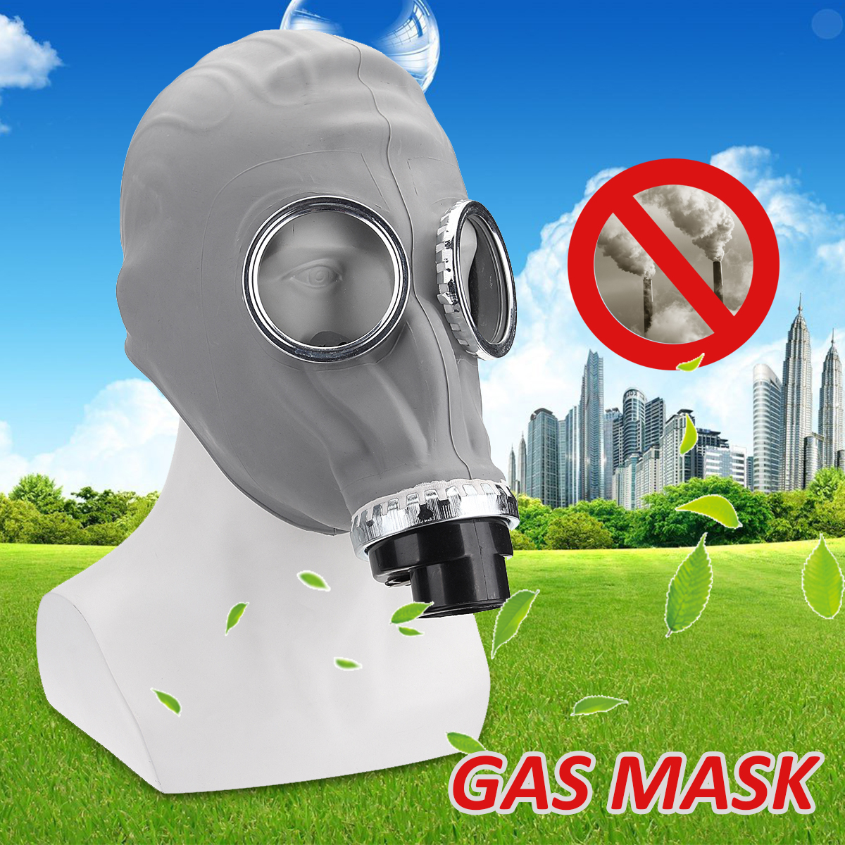 Medical Gas Dust Mask Full Face Mask Respirators Industrial Safety Chemical Gas Mask For Oil/Painting/Pharmaceutical/Laboratory цена