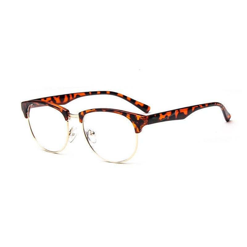 Wholesale 5pcs/Lot Big Size Half Rim Metal Glasses Frames Mens ...