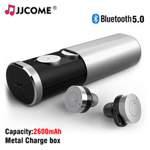 B1 TWS Earbuds Bluetooth Headset Wireless Earphone High Capacity Drawer type Metal Touch Handsfree In Ear Noise Stereo For Phone