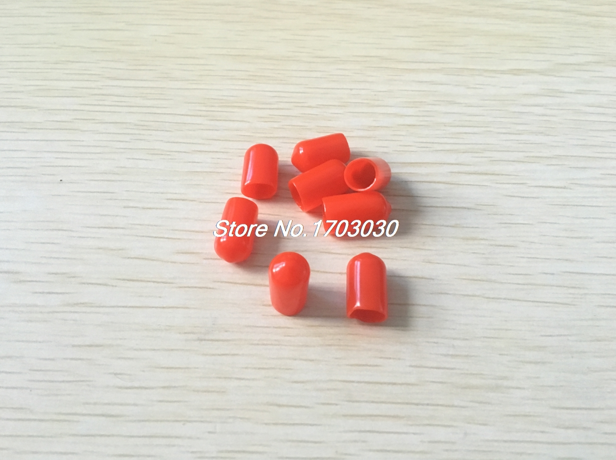 ③350 piezas 16mm Altura 8mm diámetro interior punta Red PVC aislado ...